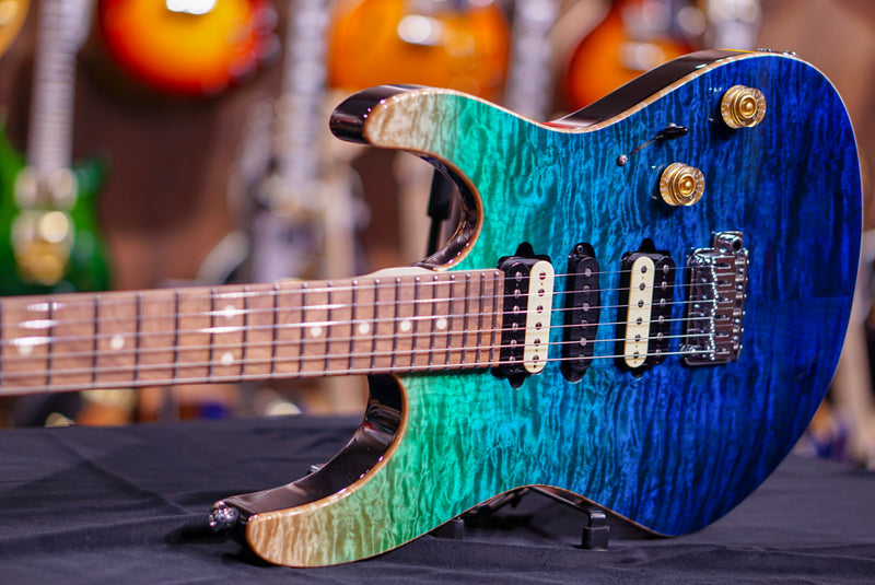 Suhr SUHR MODERN PLUS CURLY aqua blue gradient JS0J0P