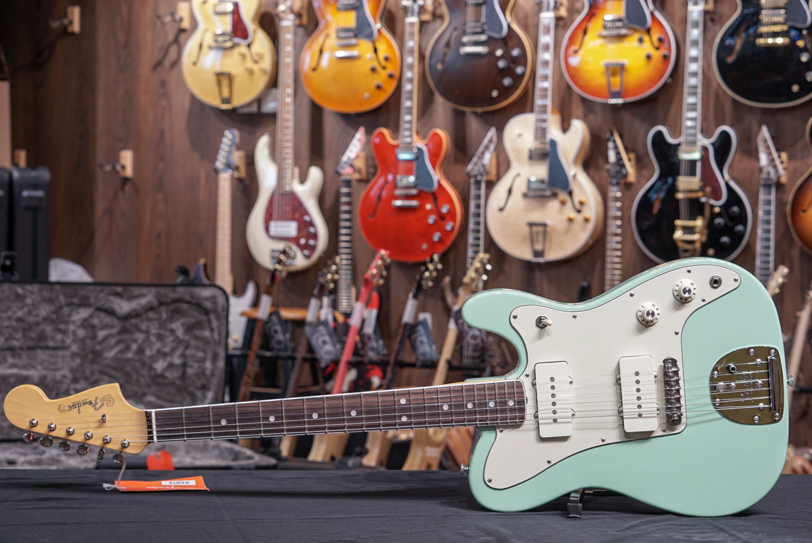 Fender Limited Edition Parallel Universe Jazz Tele - Surf Green with Rosewood Fingerboard fender - HIENDGUITAR.COM