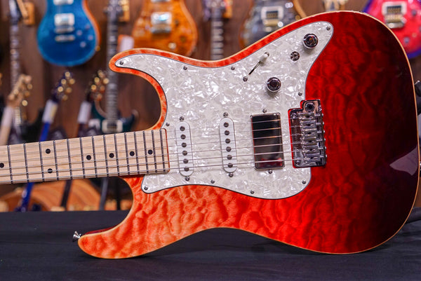 Anderson Drop Top Classic Red Surf With Binding G172543
