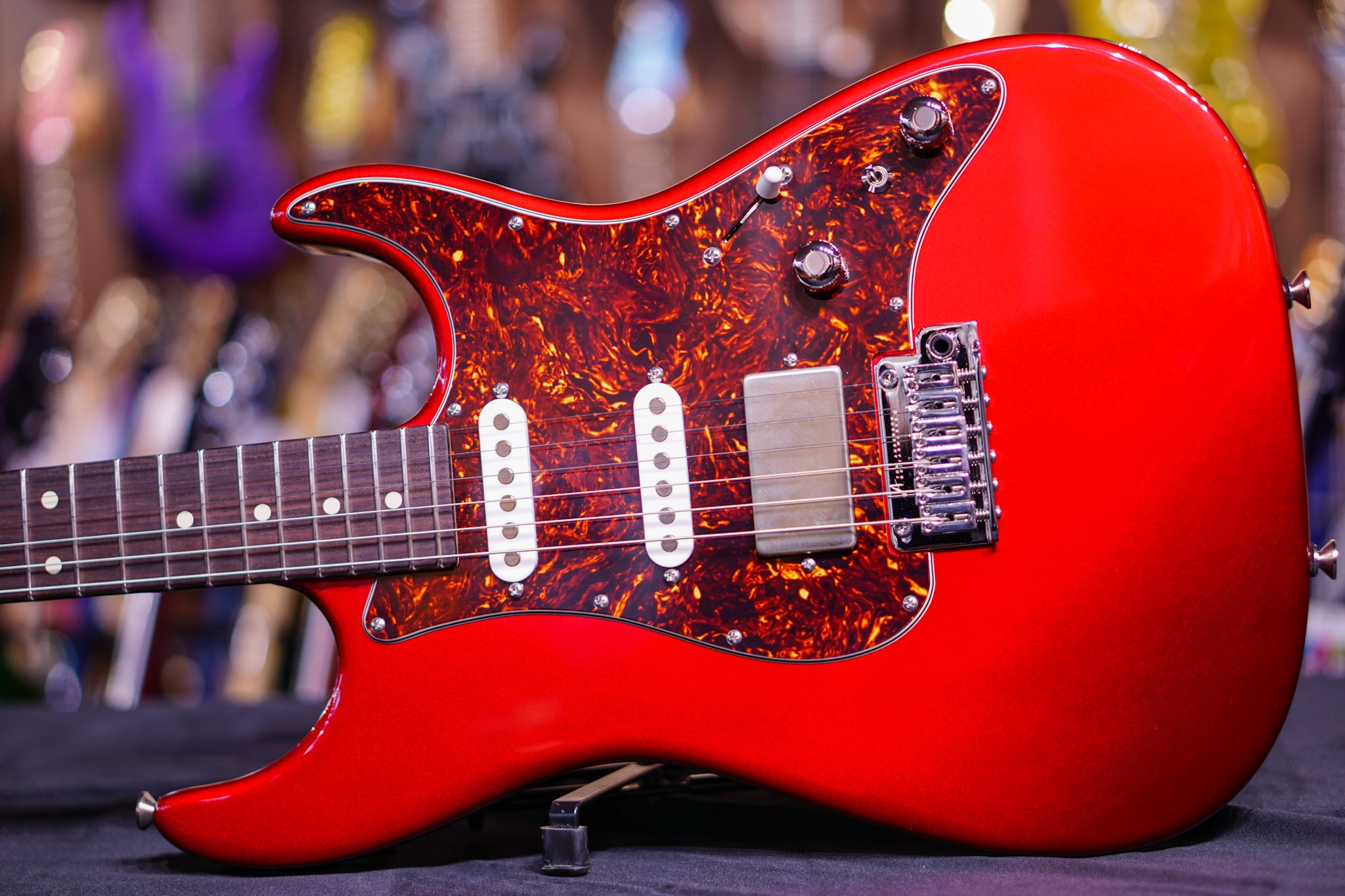 Anderson classic candy apple red G180219 Anderson - HIENDGUITAR.COM