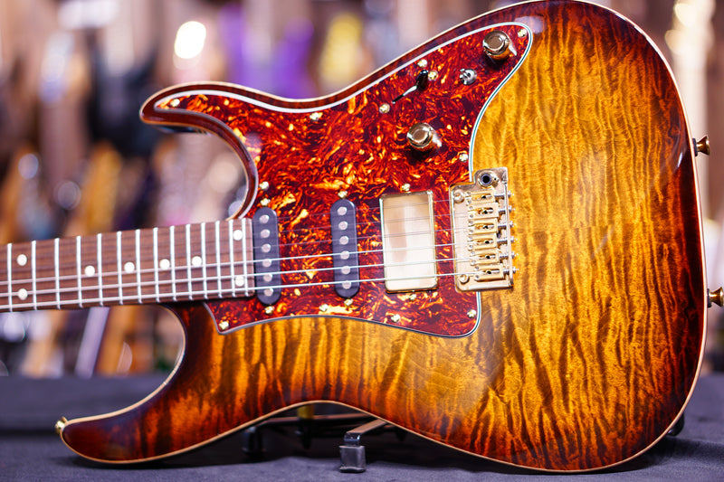 Anderson Guardian Angel tiger eye burst with binding G180216