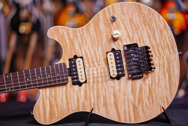 Music Man Axis Natural Quilt Match Headstock G85124