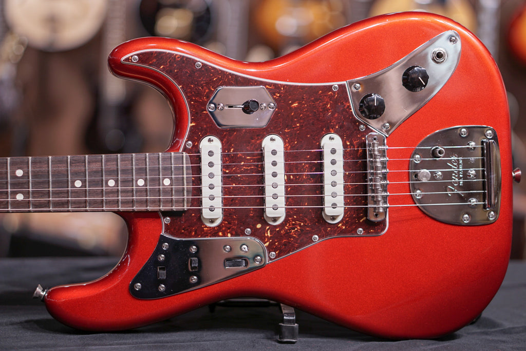 Fender Limited Edition Parallel Universe Jag Stratocaster - Candy Apple Red