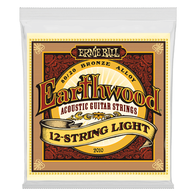 Ernie Ball Earthwood Light 12-String 80/20 Bronze Acoustic Guitar Strings - 9-46 Gauge Ernieball - HIENDGUITAR.COM