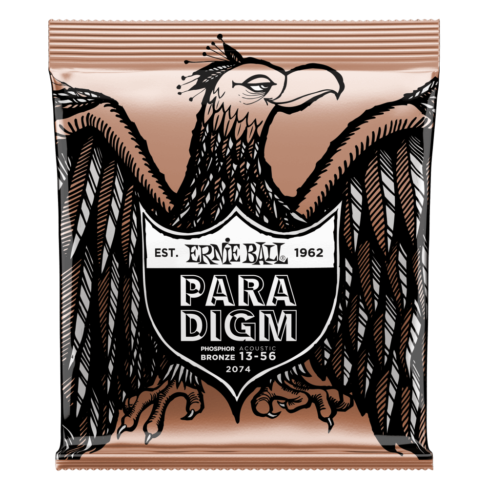 Ernie Ball Paradigm Medium Phosphor Bronze Acoustic Guitar Strings - 13-56 Gauge Ernieball - HIENDGUITAR.COM
