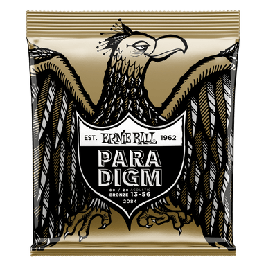 Ernie Ball Paradigm Medium 80/20 Bronze Acoustic Guitar Strings - 13-56 Gauge Ernieball - HIENDGUITAR.COM