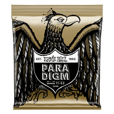 Ernie Ball Paradigm Light 80/20 Bronze Acoustic Guitar Strings - 11-52 Gauge Ernieball - HIENDGUITAR.COM