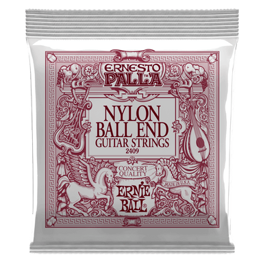 Ernie Ball Ernesto Palla Black & Gold Ball-End Nylon Classical Guitar Strings Ernieball - HIENDGUITAR.COM