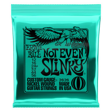 Ernie Ball Not Even Slinky Nickel Wound Electric Guitar Strings - 12-56 Gauge Ernieball - HIENDGUITAR.COM