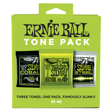 Ernie Ball Regular Slinky Electric Tone Pack - 10-46 Gauge Ernieball - HIENDGUITAR.COM