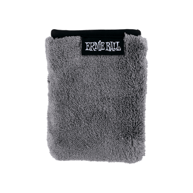 "Ernie Ball 12"" x 12"" Ultra-Plush Microfiber Polish Cloth - HIENDGUITAR   Ernieball Misc. Accessories"