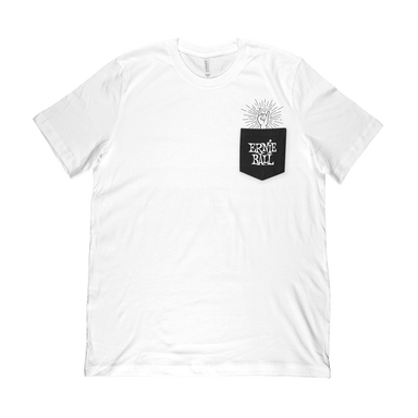 Ernie Ball Rock-On Pocket T-Shirt MD Ernieball - HIENDGUITAR.COM