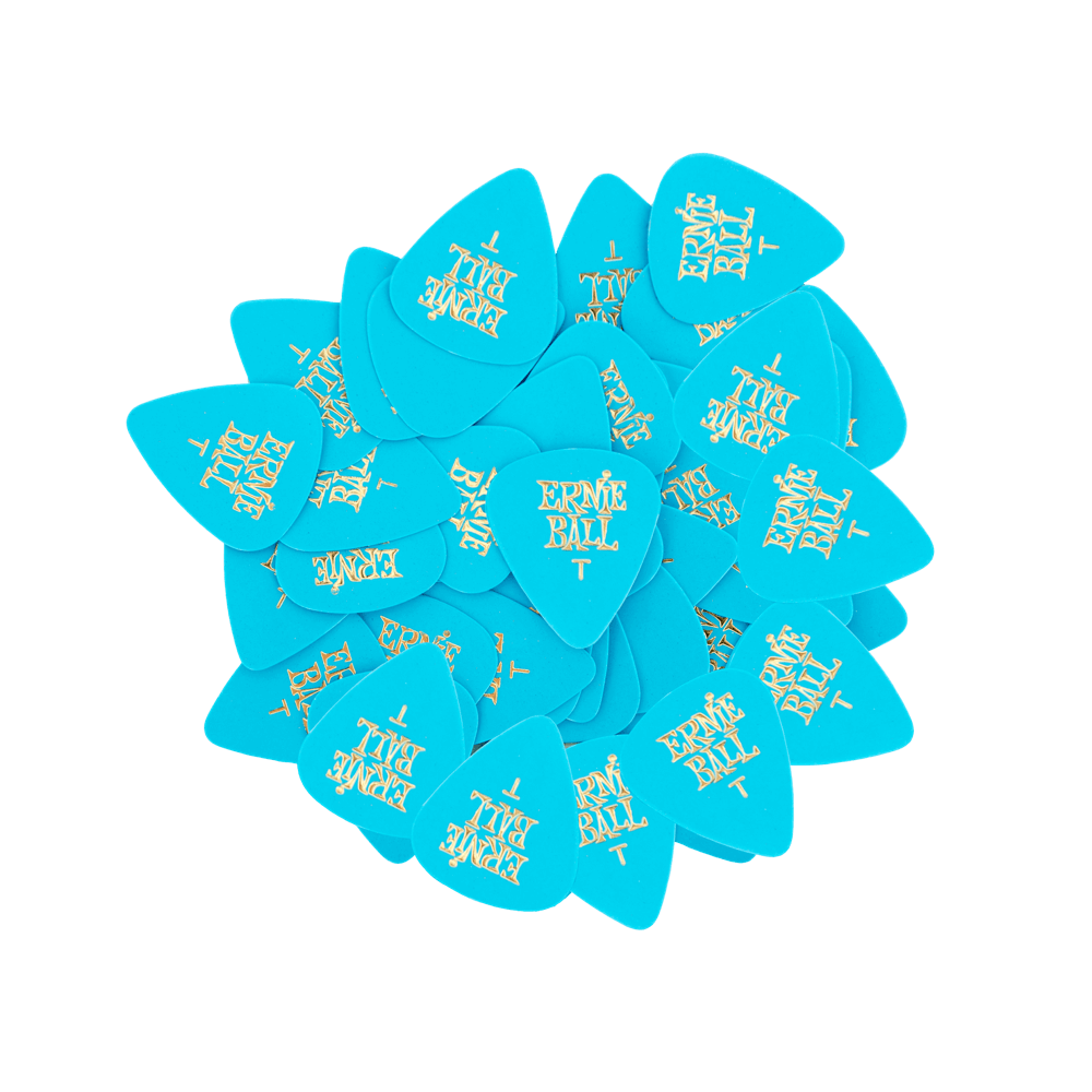 Ernie Ball Thin Blue Cellulose Picks, bag of 144 Ernieball - HIENDGUITAR.COM