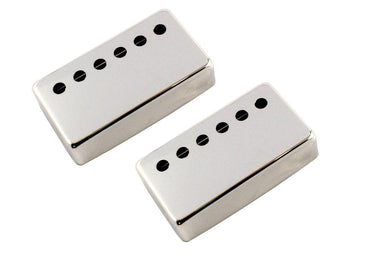 PC-6966 50mm Humbucking Pickup Cover Set No vendor Nickel - HIENDGUITAR.COM