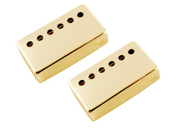 PC-6966 50mm Humbucking Pickup Cover Set No vendor Gold - HIENDGUITAR.COM