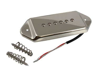 PU-0418 P-90®-style Pickup with Ears and Cover MUSICMAN NAGOYA Nickel - HIENDGUITAR.COM