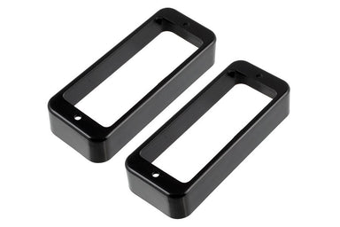PC-0747 Mini Humbucking Pickup Ring Set MUSICMAN NAGOYA Black - HIENDGUITAR.COM