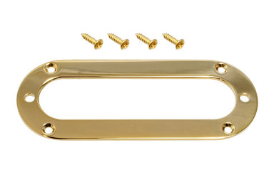 PC-5765 ABM 7315 Oval Pickup Ring ABM (JOWO BERLINER) Gold - HIENDGUITAR.COM
