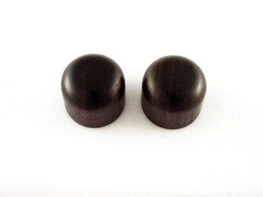 PK-0198 Set of 2 Dark Wooden Dome Knobs KMS SHOKAI CO., LTD. Rosewood - HIENDGUITAR.COM