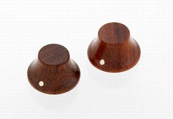 PK-3197 Set of 2 Wooden Bell Knobs DAE HUNG INTERNATIONAL COMPANY LTD Bubinga - HIENDGUITAR.COM