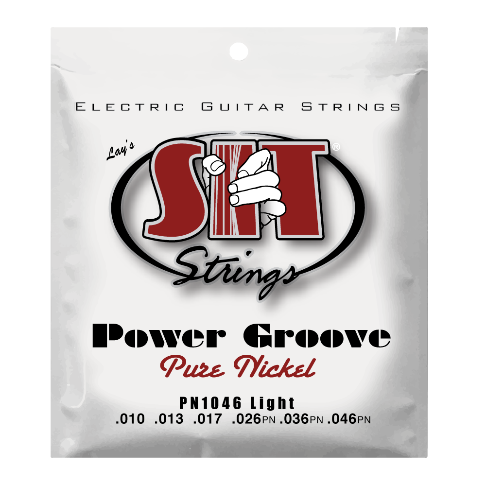 PN1046 LIGHT POWER GROOVE PURE NICKEL ELECTRIC      SIT STRING
