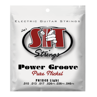 PN1046 LIGHT POWER GROOVE PURE NICKEL ELECTRIC SIT STRING SIT - HIENDGUITAR.COM