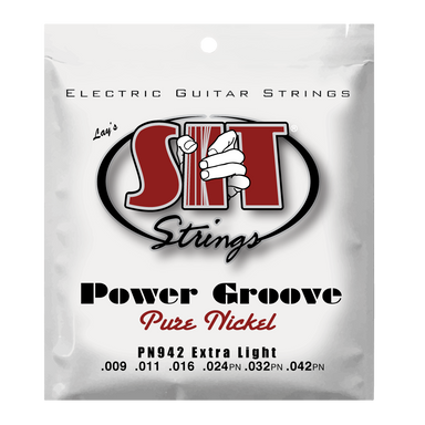 PN942 EXTRA LIGHT POWER GROOVE PURE NICKEL ELECTRIC SIT STRING SIT - HIENDGUITAR.COM
