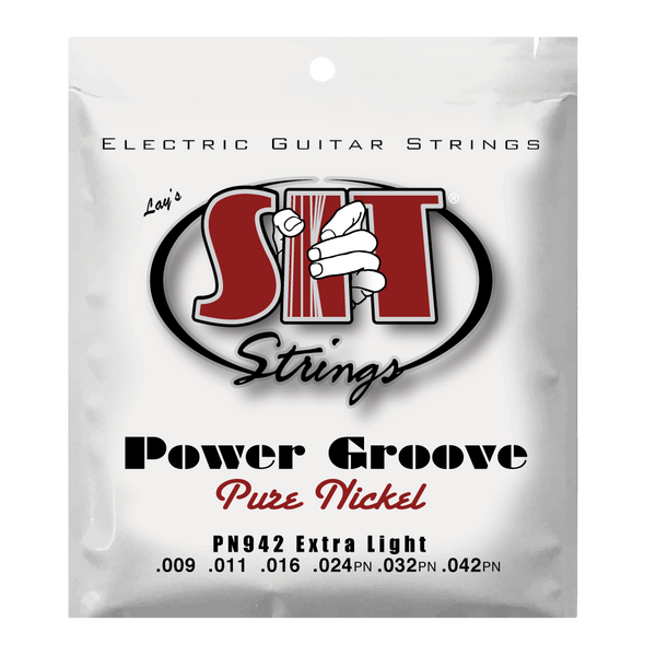 PN942 EXTRA LIGHT POWER GROOVE PURE NICKEL ELECTRIC      SIT STRING