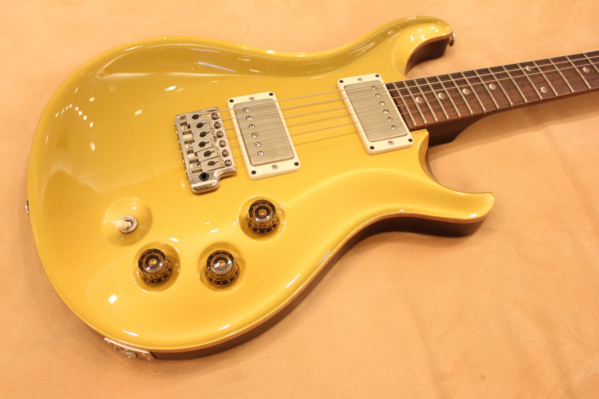 PRS DGT, moon inlays, Gold Top sn 192577 - HIENDGUITAR   PRS GUITAR