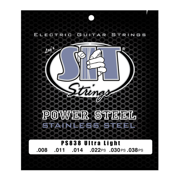 PS838 ULTRA LGIHT POWER STEEL STAINLESS ELECTRIC      SIT STRING