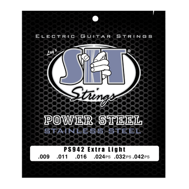 PS942 EXTRA LIGHT POWER STEEL STAINLESS ELECTRIC SIT STRING SIT - HIENDGUITAR.COM