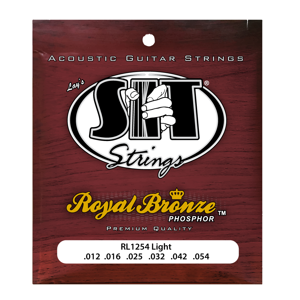 RL1254 LIGHT ROYAL BRONZE ACOUSTIC      SIT STRING