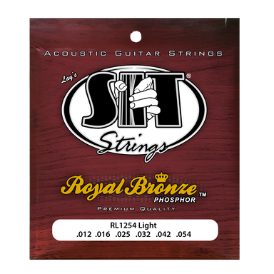 RL1254 LIGHT ROYAL BRONZE ACOUSTIC      SIT STRING - HIENDGUITAR   SIT string