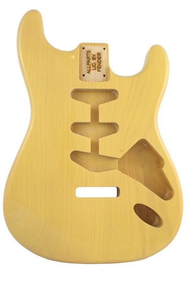 SBF-BLND Blonde Finished Replacement Body for Strat® TOKIWA Tremolo - HIENDGUITAR.COM
