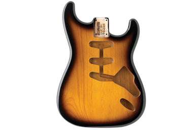 SBF-2SB 2-Tone Sunburst Finished Replacement Body for Strat® TOKIWA Hardtail - HIENDGUITAR.COM
