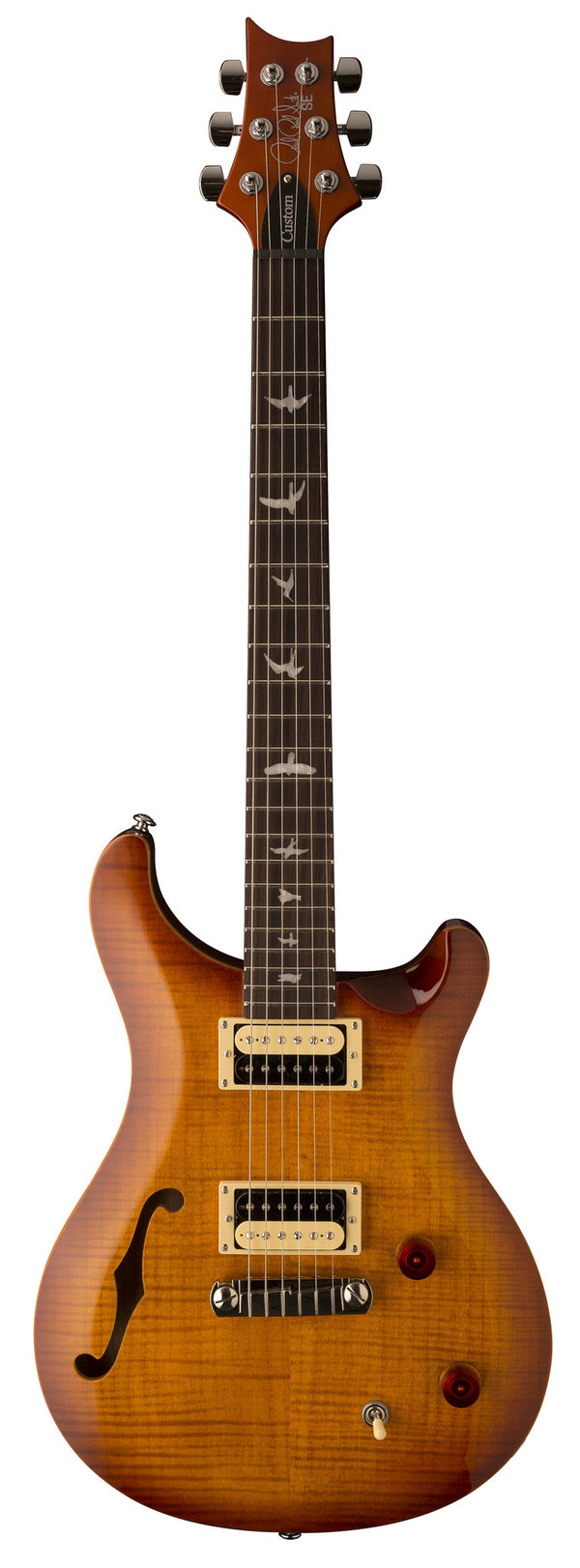 PRS SE Custom 22 Semi-hollow - Vintage Sunburst 2017