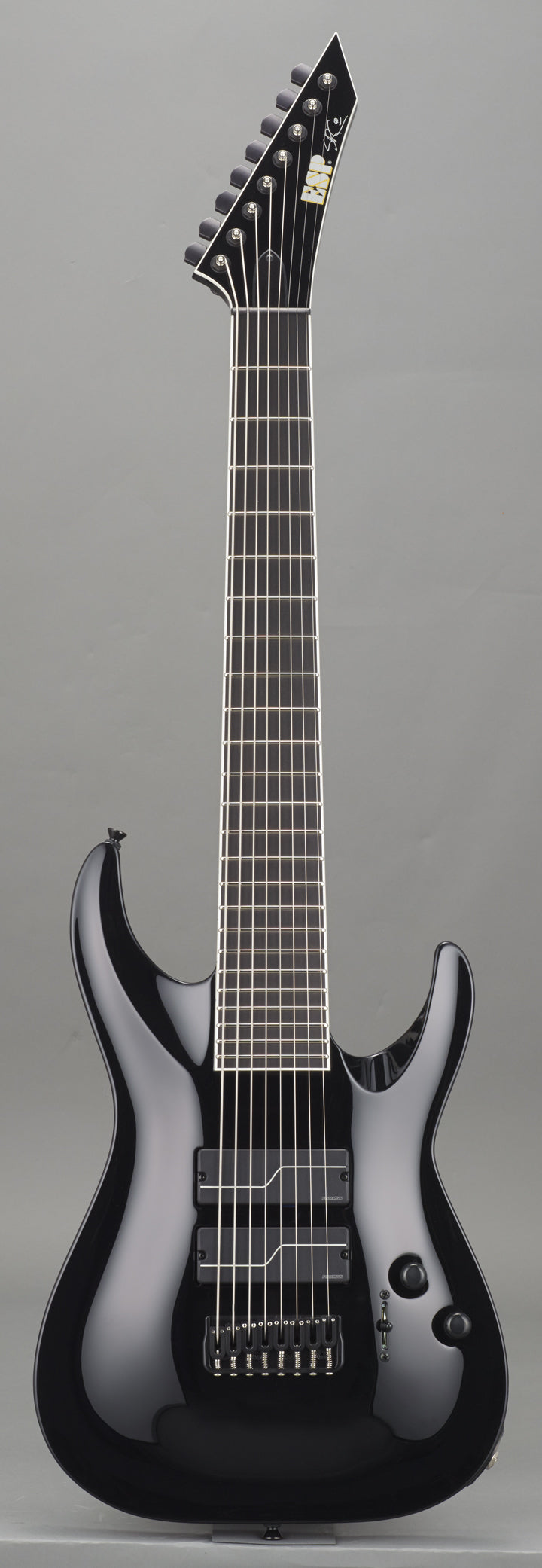 ESP STEF-B8 Stephen Carpenter Signature 8-String Baritone Black