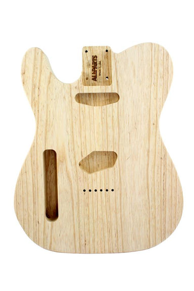 TBAO Unfinished Replacement Body for Tele® WILDWOOD MANUFACTURING Left-handed - HIENDGUITAR.COM