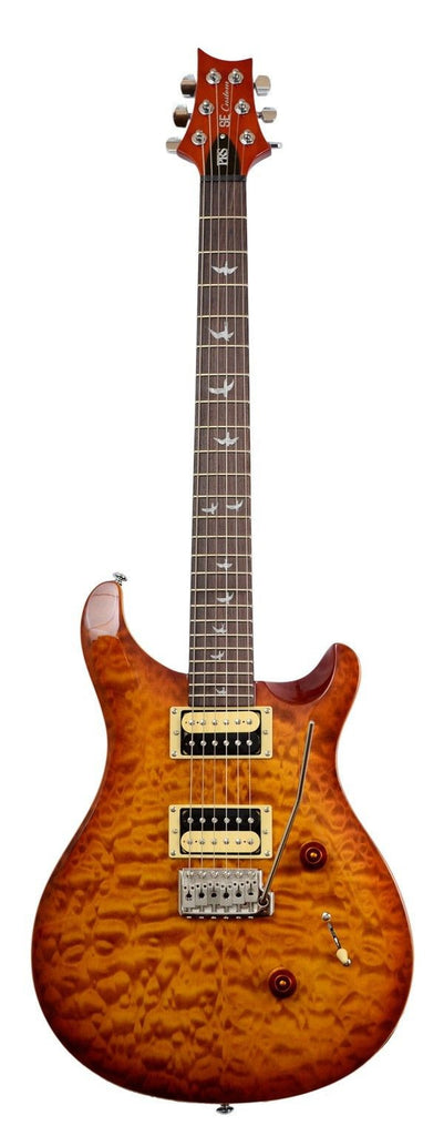 PRS SE Custom 24-30th Anniversary-Quilt Tops Vintage Sunburst