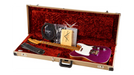 Fender Custom Shop Limited Edition NAMM 2016 Custom Built Postmodern Journeyman Relic Maple Fingerboard Telecaster Magenta Sparkle HIENDGUITAR.COM - HIENDGUITAR.COM