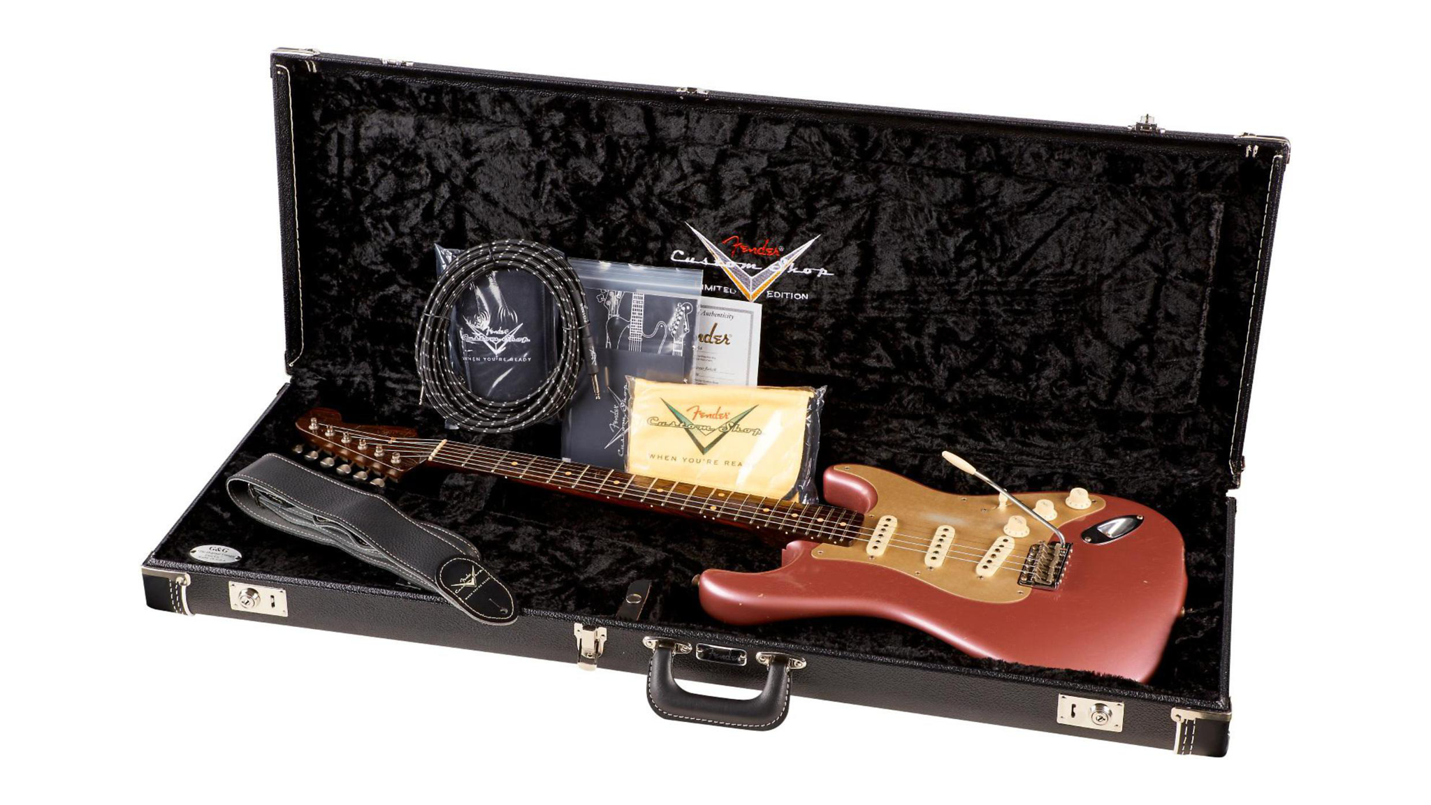 Fender Custom Shop Limited Edition NAMM Custom Built '50s Journeyman Relic Rosewood Neck Stratocaster