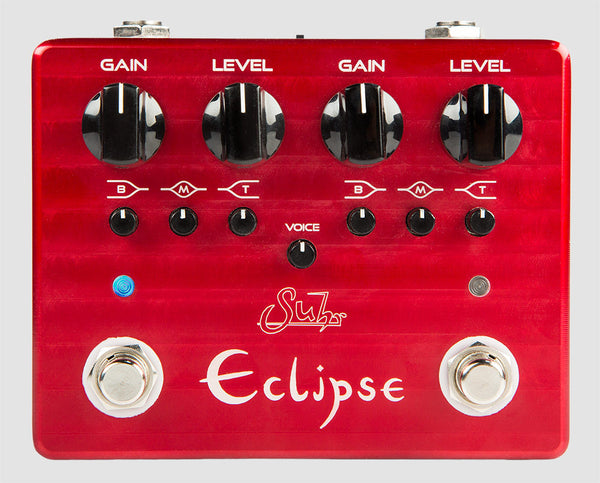 SUHR ECLIPSE DUAL CHANNEL OVERDRIVE/DISTORTION PEDAL