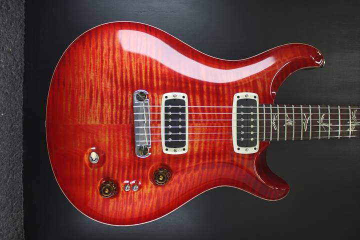 PRS Paul's guitar BLOOD ORANGE 10 top #227433 KATALOX NECK EBONY FINGERBOARD PRS - HIENDGUITAR.COM