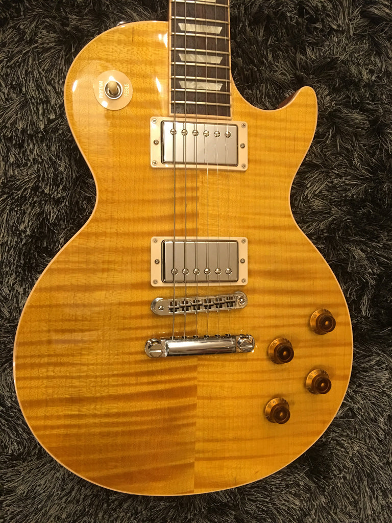 Gibson les paul standard T 2016 trans amber