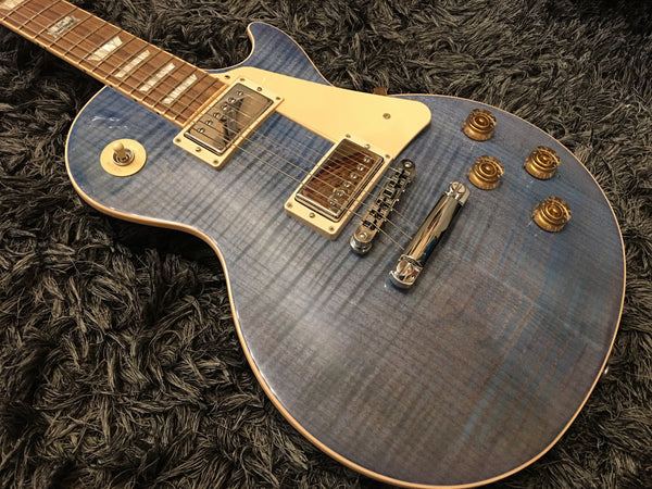 GIBSON LP Traditional 2014 Ocean Blue LPTD14OBCH1