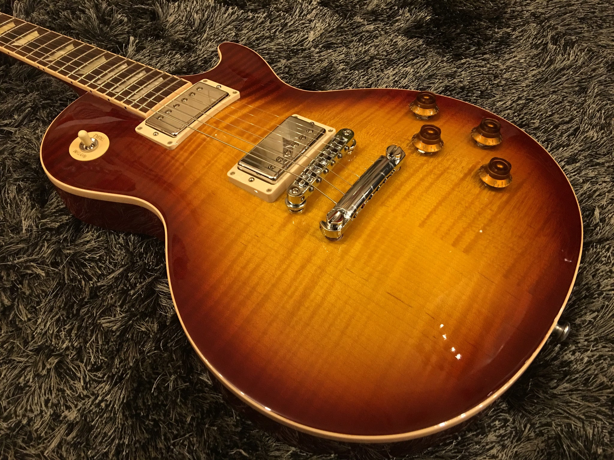 Gibson 2016 Les Paul Standard Plus Top T 61943 Tea Burst Gibson - HIENDGUITAR.COM