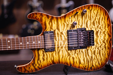 Anderson drop top tiger eye burst Anderson - HIENDGUITAR.COM