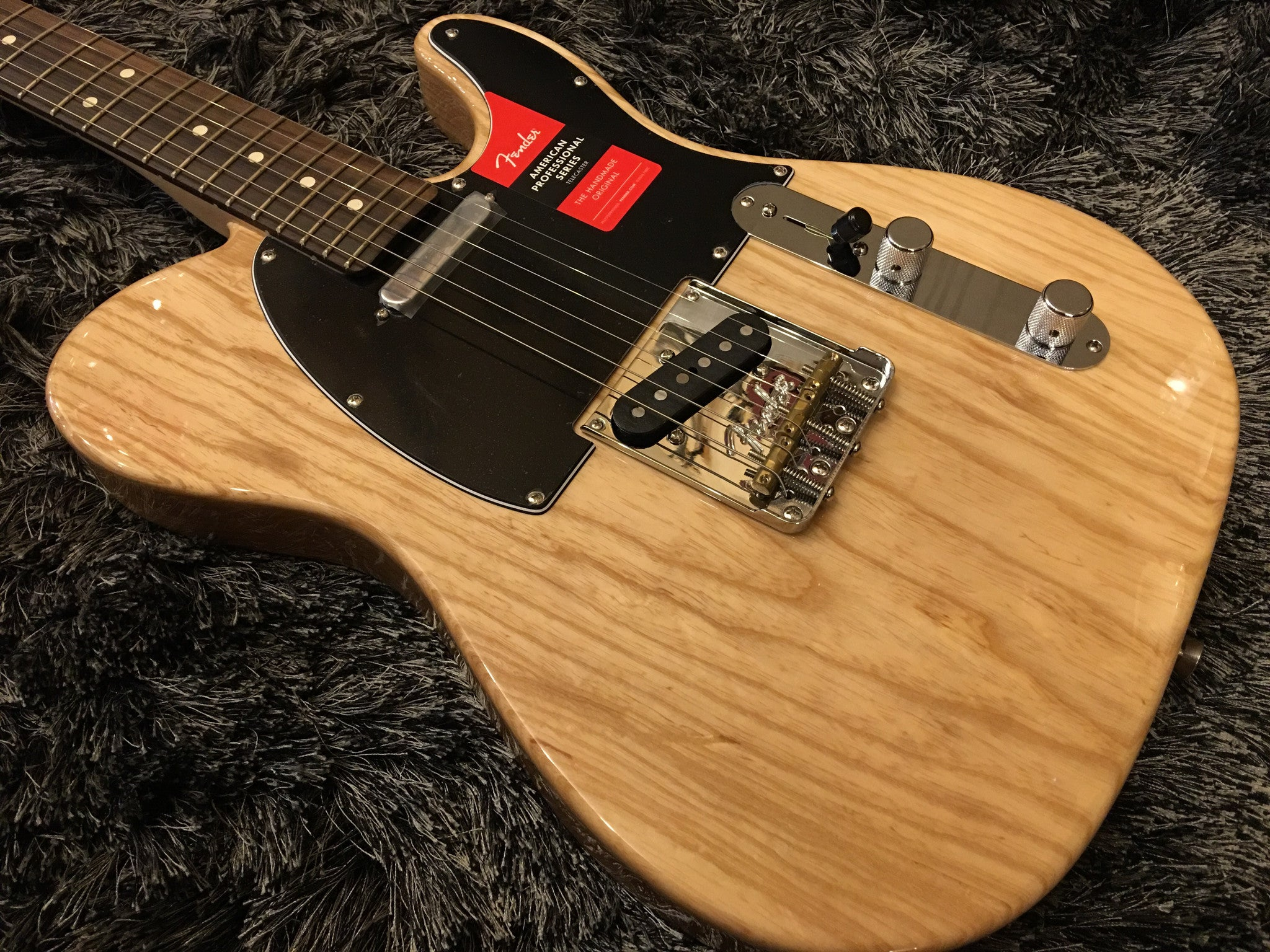 Fender american pro telecaster natural