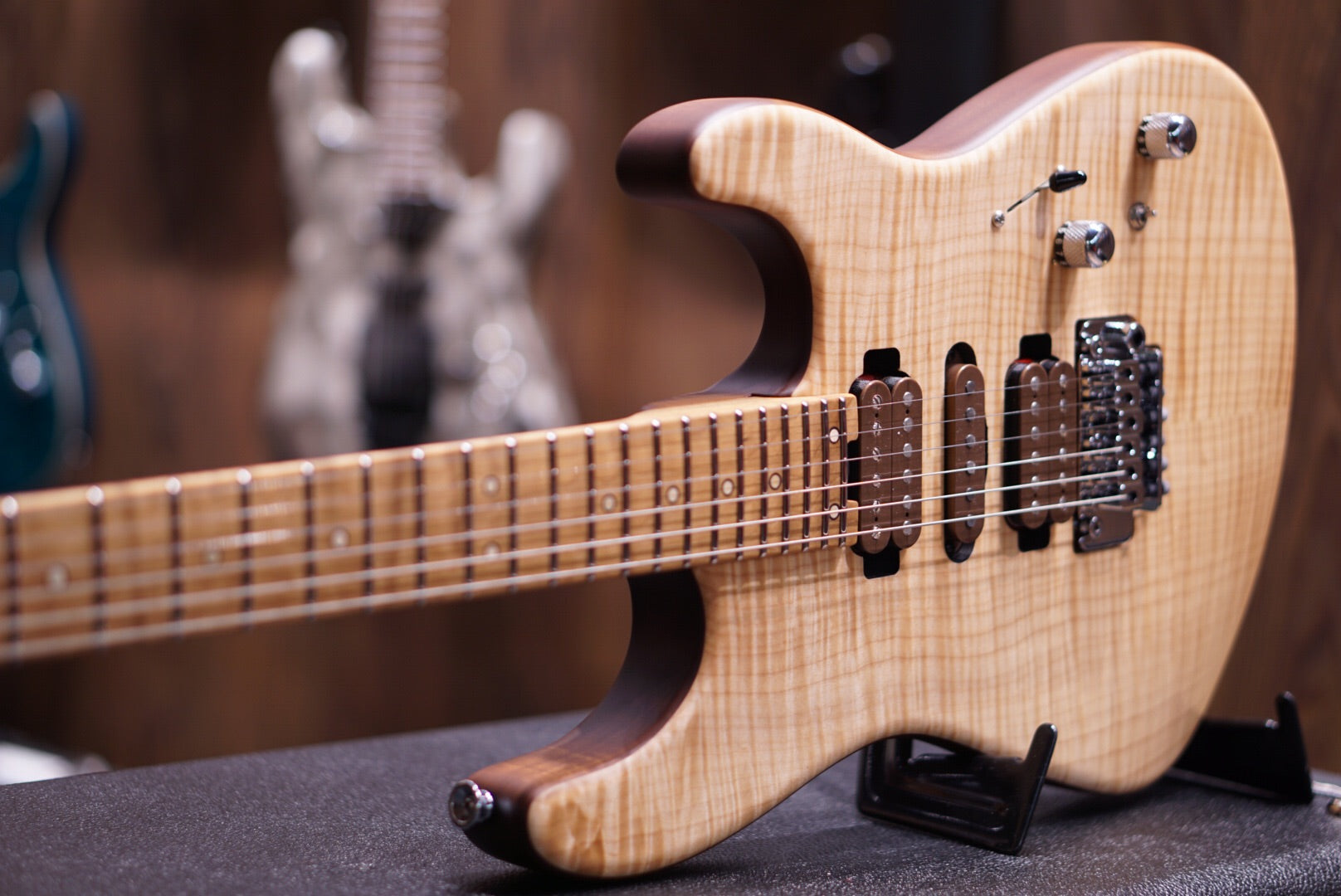 Charvel Guthrie Govan flame roasted