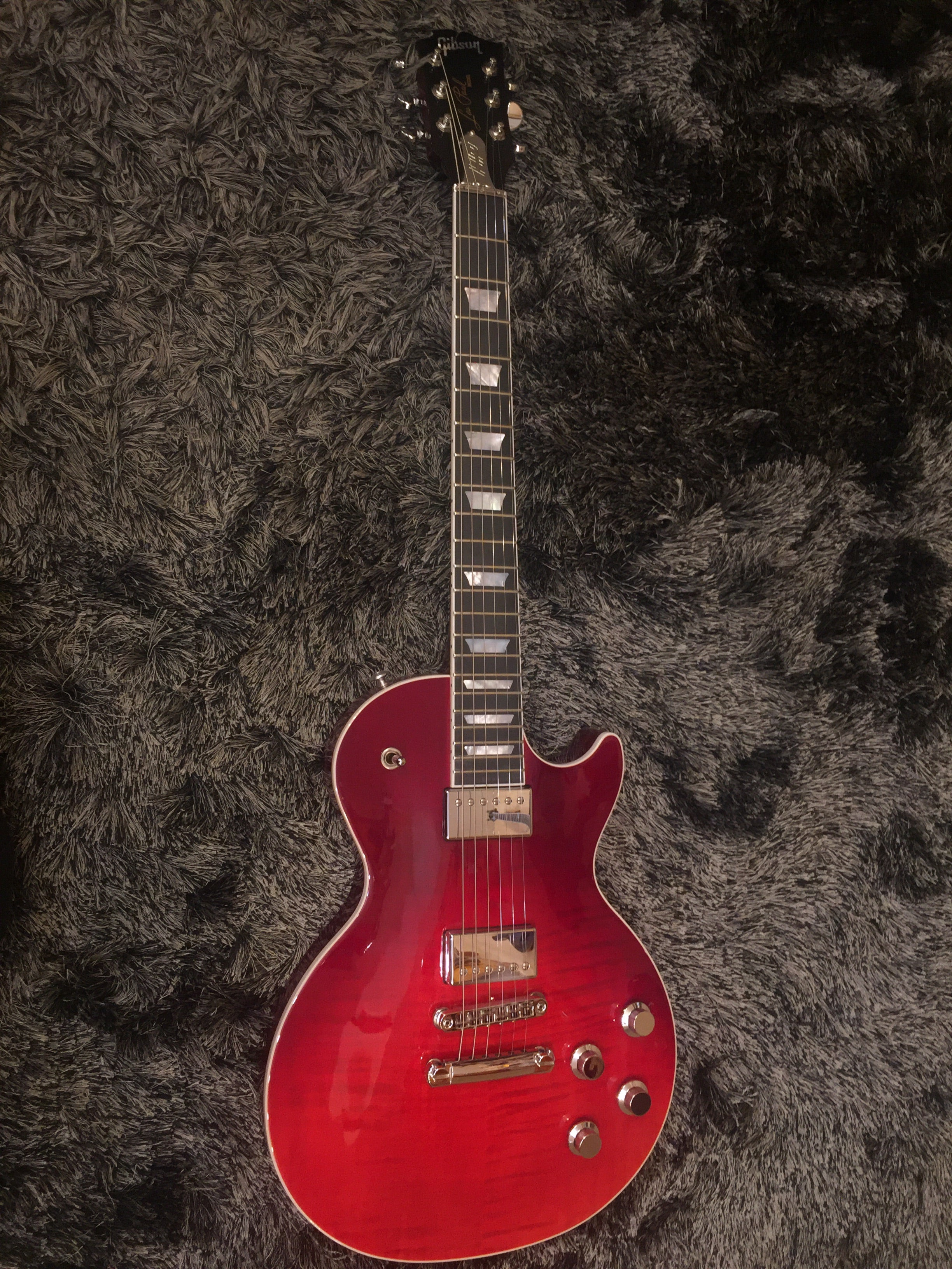 Gibson Les Paul Standard HP-II 2018 - Blood Orange Fade, Grover Tuners 1416 Gibson - HIENDGUITAR.COM